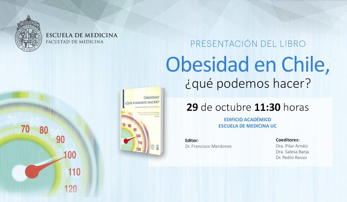 Presentación Libro Obesidad En Chile Qué Podemos Hacer